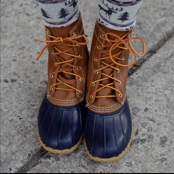 ll bean shoes ll bean boots duck womens 6 narrow sold out - Duck Rain Boots