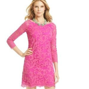 88% off Lilly Pulitzer Dresses & Skirts - LILLY PULITZER HOT PINK ...