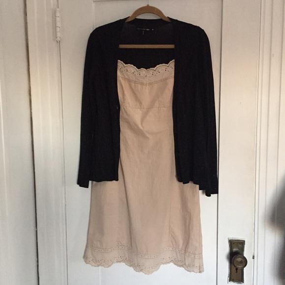 598313d27383 Dosa Dresses & Skirts - Dosa Organic Cotton Slip Dress In Champagne