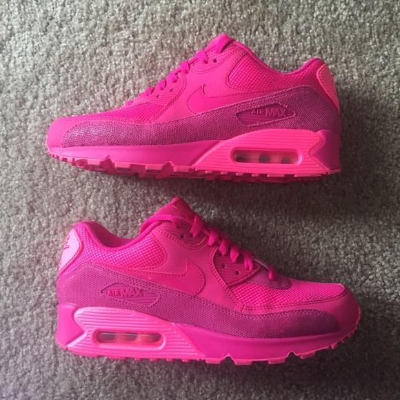 Nike Hot Pink Air Max 90 Sz 8.5