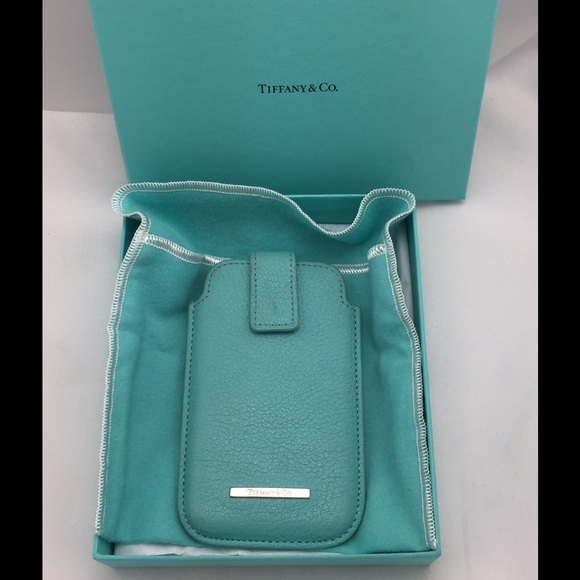 timeless design 089be ef73e Authentic Tiffany and Co. Cell Phone Case!