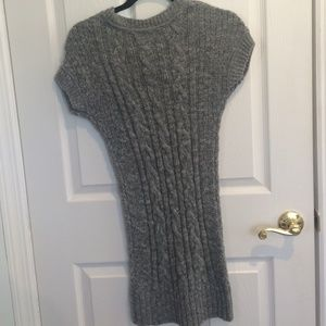 80% off Abercrombie & Fitch Sweaters - Grey cable knit sweater ...