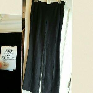Motivi Pants - NEW Motivi Black linen pants