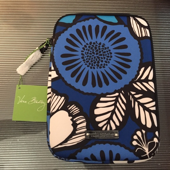 19928d95fdbf VERA BRADLEY NEOPRENE MEDIUM TABLET SLEEVE