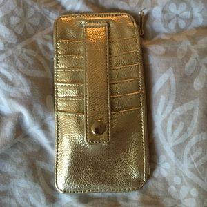 Target Handbags - Gold wallet