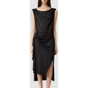 All Saints Dresses & Skirts - All Saints Flores Dress in Dark Grey
