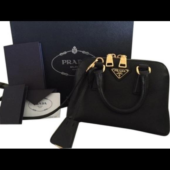 d827730672b7 Prada Bags   Sold Saffiano Promenade Mini Bag Box   Poshmark