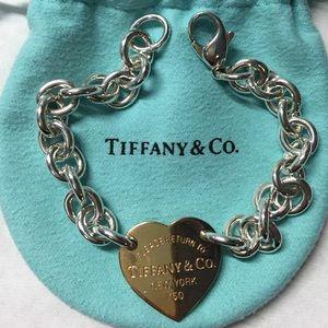 3ac1e92c8 Tiffany & Co. Jewelry | Tiffany Co Rose Gold Charm Bracelet | Poshmark