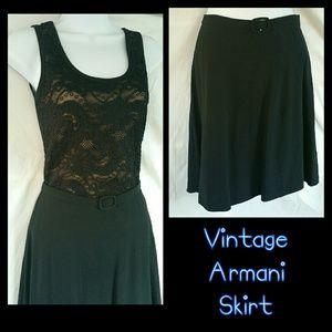 Emporio Armani Vintage Italian Skirt HP!