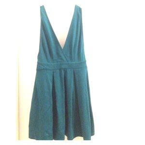 Blue forever 21 dress.