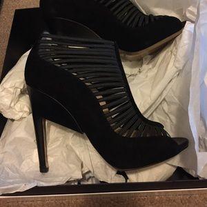 Nicholas Kirkwood brand new suede heels