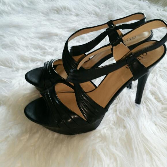 c3cf4d9997d Guess Shoes - 💞SALE💞 Guess Black Strappy Heels