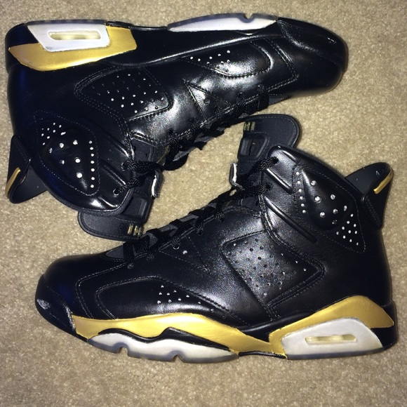 Jordan 6 custom dmp. 100% legit. Sz 8.