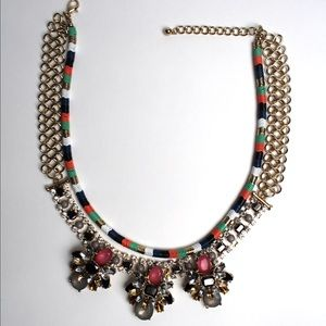 "The ""Behati"" Rhinestone Statement Necklace"