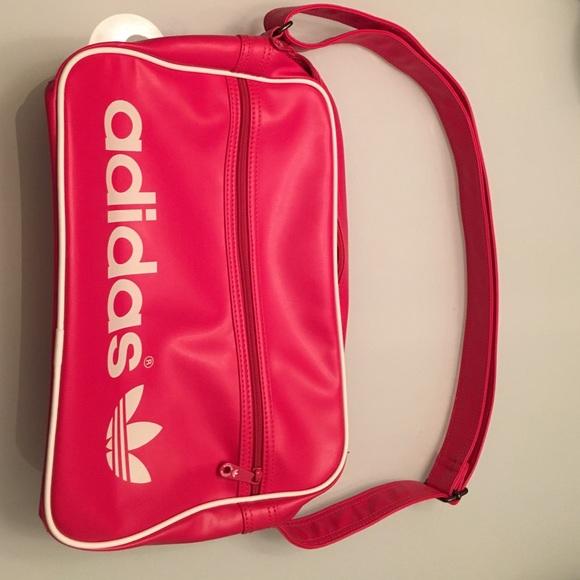 99a3f7b93c0a Adidas Handbags - Adidas bright pink crossbody or shoulder bag