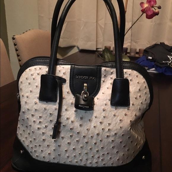 sold on ercari london fog ostrich bag - London Fog Luggage