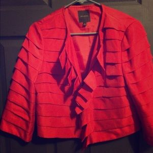 The Limited Jackets & Blazers - Red layer jacket