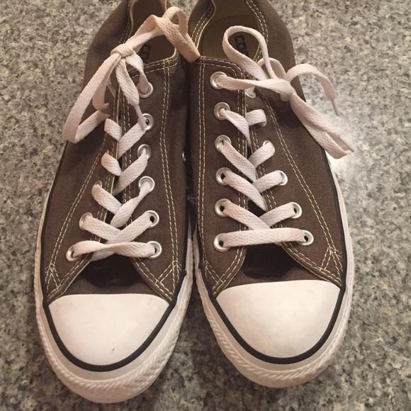 8d278a82129 Converse Shoes - Dark green-brown Converse