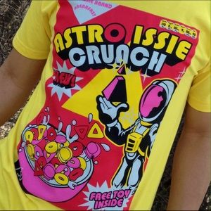 5ce2b43d13ac8 Astro Issie Shirts - Mens 1980s Spaceman Cereal Sneakerhead T-shirt NWT