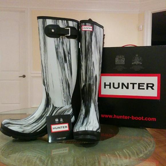 577371051 Hunter Shoes   Hp Original Nightfall Rain Boots   Poshmark