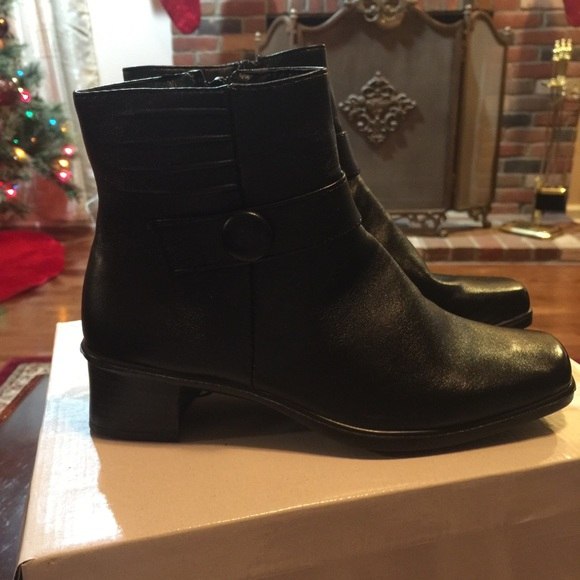 64 sag harbor shoes awesome casual ankle black