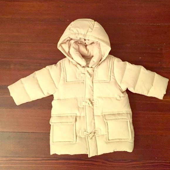 805245924ba29 Baby down duffle coat by Benetton. Size 6-9 month.  M 5670e6e72fd0b72d5900e10d