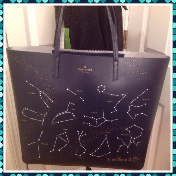 9c82044b97c3 kate spade Bags | Written In The Stars Tote Nwt | Poshmark