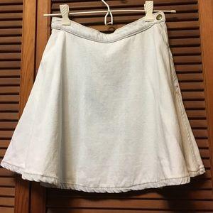 AA Denim Circle Skirt