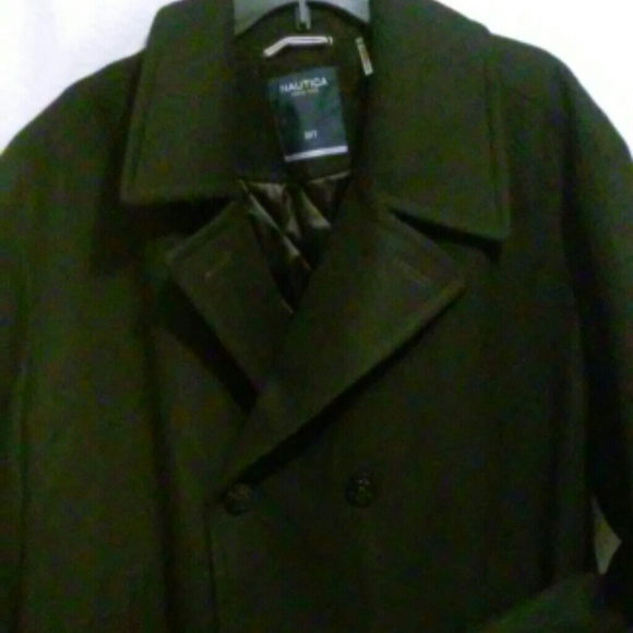 44 Off Nautica Other Nautrica Mens Black Peacoat From
