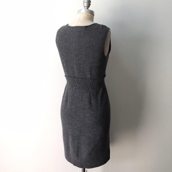 Anthropologie draped denim dress