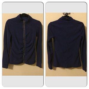 Ideology Tops - Ideology Long-Sleeve Fleece Zip Up Jacket
