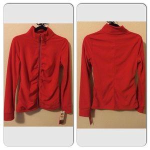 Ideology Tops - NWT Ideology Long-Sleeve Fleece Zip Up Jacket