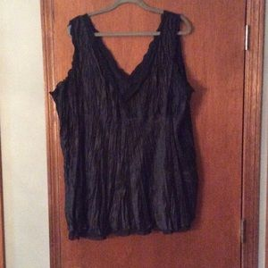 Ashley Stewart Tops - Black 100% polyester camisole