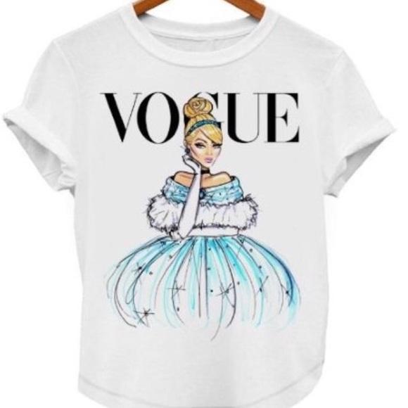 Vogue Cinderella Princess T-shirt