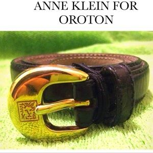 Anne Klein Accessories - 🐯ANNE KLEIN OROTON Black Belt🐯