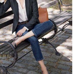 Standards & Practices Denim - Standard's & Practices Cropped Jeans