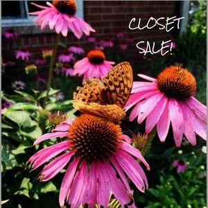Closet sale! Make an offer :)