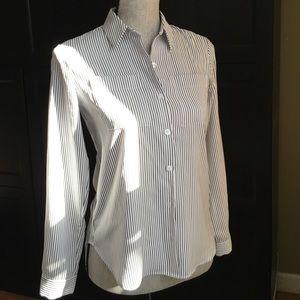 Ann Taylor striped blouse. XXSP.
