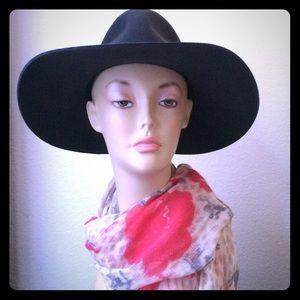 Madewell floral print wool scarf