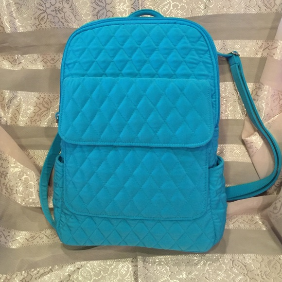 poshmark quilted m quilt bradley vera listing backpacks tote backpack