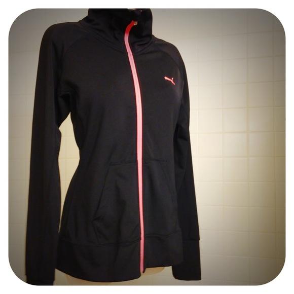 8d31fa7b768c Puma Jackets   Blazers - ❄️SALE❄️Black Puma DryCELL Track Jacket ...