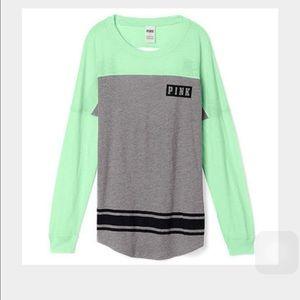 Pink Brand Long Sleeve Shirt | Is Shirt
