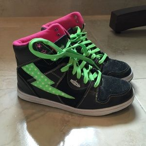 Punkrose Hi-top sneakers