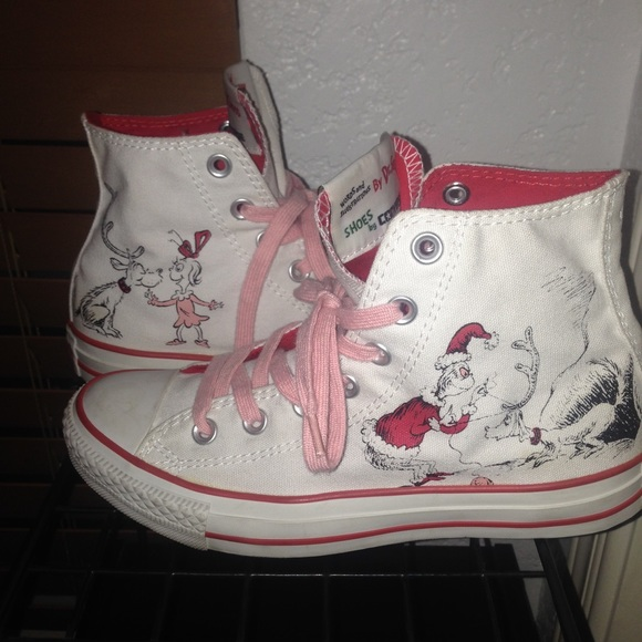 06b3ce9a9ed5 Converse Shoes - Converse How The Grinch Stole Christmas Chucks