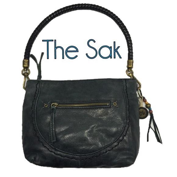 The Sak Bags   Black Leather Purse Nwot   Poshmark a272f18d9e