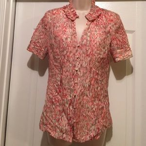 Banana Republic silk / cotton top.