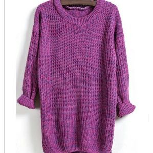 Tops - New Purple pullover sweater