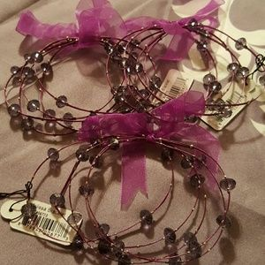 Jewelry - Purple Melissa Bracelets