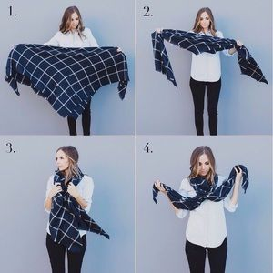 Accessories - Accessories | How to rock your blanket scarf