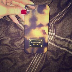 Michael Kors Tortoise Shell iPhone 5/5s phone case